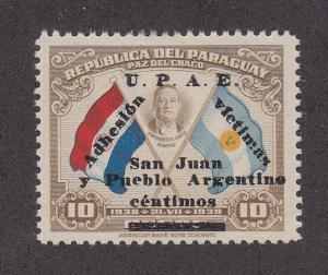 Paraguay Scott #387 MH