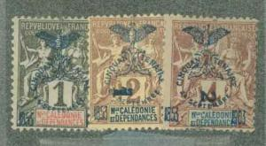 New Caledonia 66-68 Mint Ave-VF HR