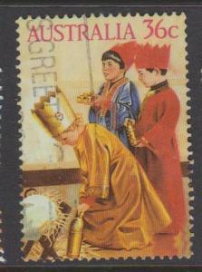 Australia Sc#1006 Used