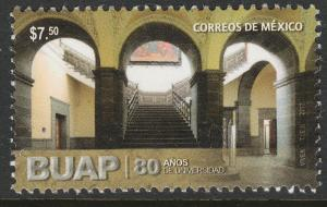 MEXICO 3079, PUEBLA STATE UNIVERSITY. MINT, NH. VF.