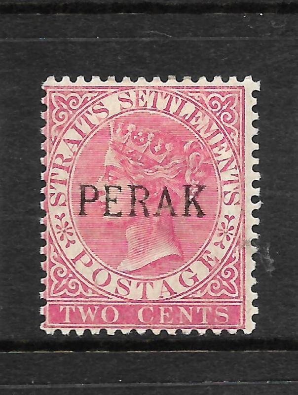 PERAK  1880-91  2c    QV      MH   SG 21a