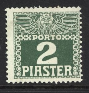 Austria Turkey 1908  Scott #J10 MLH