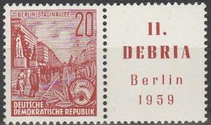 DDR #478a MNH F-VF (SU4988)