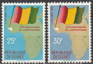 Guinea #203-4 MNH F-VF  (V4484)
