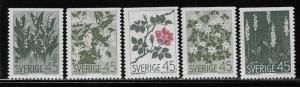 SWEDEN SC# 782-86  FVF/MNH 1968