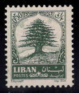 LEBANON Scott 405 MNH** 19623 Cedar of Lebanon stamp