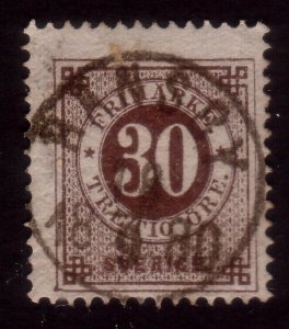 SWEDEN 1880 30 ore with fine RANSBY cds....................................41207