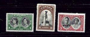 Canada 246-48 MH 1939 set