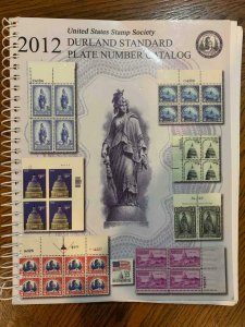 Durland Standard Plate Number Catalog by Hagendorf 2012 ,Stamp Philately Book