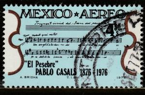 MEXICO C532 Birth Cent of Cellist Pablo Casals USED (833)
