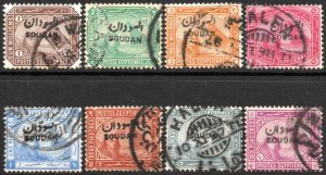 SUDAN-1897 Set to 10p Sg 1-9 FINE USED V41884