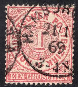 NORTH GERMAN CONFEDERATION SCOTT 16
