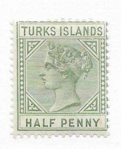Turks & Caicos #48 MH CAT VALUE $5.00