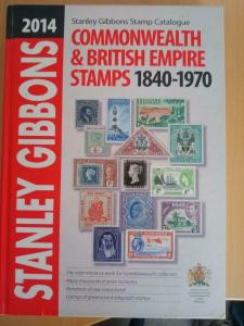 Stanley Gibbons Stamp Catalogue: 2014 : Commonwealth & Empire Stamps 1840-1970