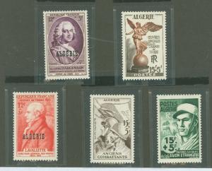 Algeria B69-B73 Mint VF H