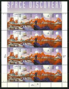 PCBstamps   US #3238/3242 Sheet $6.40(4x5x32)Space Discovery, MNH, (PCB-B)