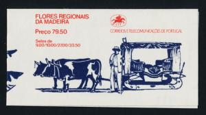 Portugal - Madeira 85a Booklet MNH Flowers