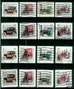 #3626 - 3645 Antique Toys (Complete set of 12) - Used