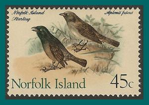 Norfolk Island 1970 Birds 1, Starling, MNH 138,SG115