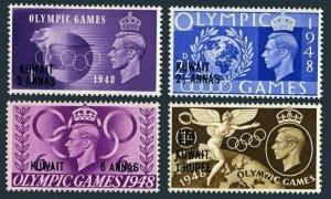 Kuwait 84-87,MNH.Michel 77-80. Olympics Wembley-1948.Globe,Torch.