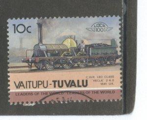 Tuvalu - Vaitupu 24  Used cgs