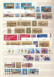 East Germany 1970s/80s Space Pottery Sport Mainly MNH (Appx 180 Items)St351