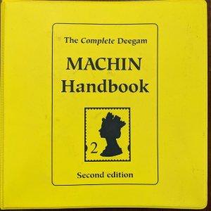 Stamps Literature Complete Deegam Machin Handbook 1996 Second Edition Philatelic