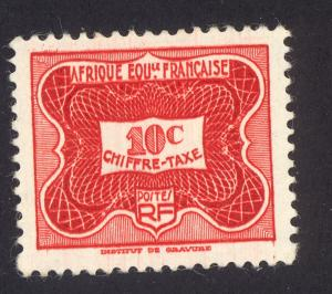 French Equitorial Africa J12 MH