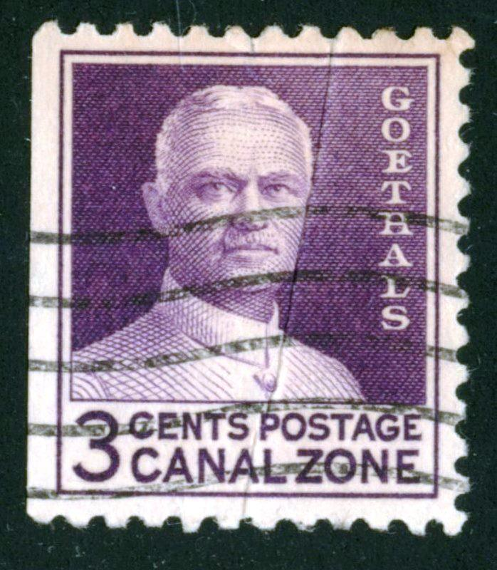 Canal Zone - SC #117 - Used Fault- 1934 - Item CZ001