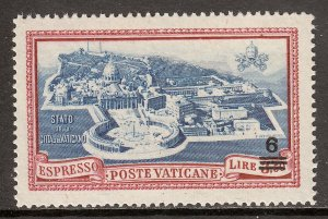 Vatican City - Scott #E7 - MNH - SCV $4.25