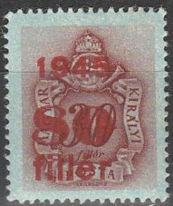 Hungary #J176 MNH