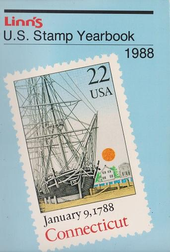 Linn's U.S. Stamp Yearbook for 1988
