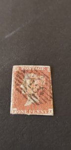 Great Britain #3 Used Fancy # Cancel