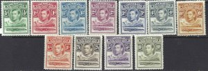 Basutoland 1938 SC 18-28 MLH SCV $86.00 Set