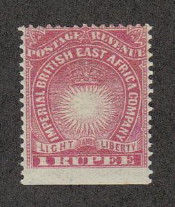 British East Africa #25 MH