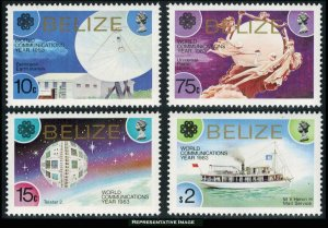 Belize Scott 685-688 Mint never hinged.