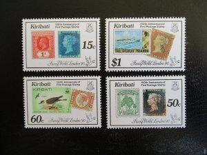 Kiribati #536-39 Mint Never Hinged (M7N4) - Stamp Lives Matter!