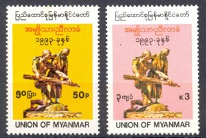 Burma Sc# 317-318 MNH 1993 National Constitutional Convention