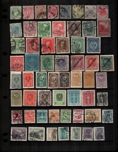 Argentina  mint and  used  lot of 52