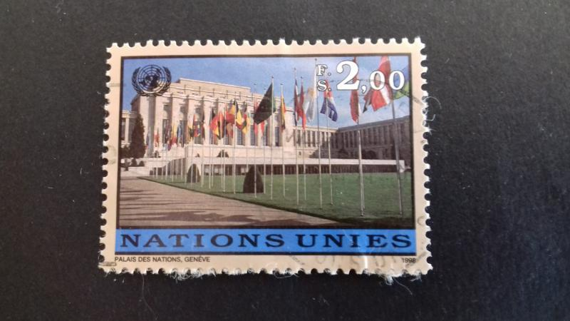 United nations Geneva 1998 New Daily Stamp