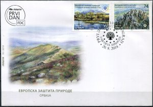Serbia 2019. European Nature Protection (Mint) First Day Cover