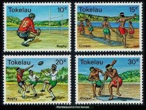 Tokelau Scott 69-72 Mint never hinged.