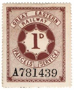 (I.B) Great Eastern Railway : Parcels Service 1d