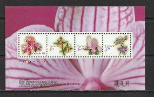 2010 Canada - Sc 2356 - MNH VF - Mini Sheet - Flowers
