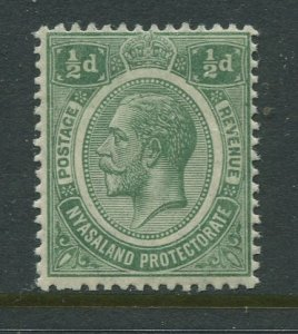 STAMP STATION PERTH Nyasaland #12 KGV Definitive MNH 1913-19
