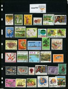 PKStamps - ssaa753 - Singapore - Mini Lot - Check Out Image