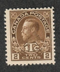 Canada Sc#MR4 M/NH/VF-EF, Jumbo War Tax Type II, Cv. $62.50