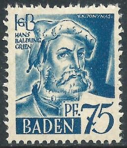 Baden, Sc #5N11, MH