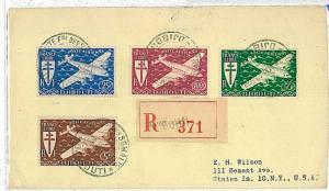 14771 - Somali Coast (Djibouti) : AIRPLANES - POSTAL HISTORY - COVER 1947