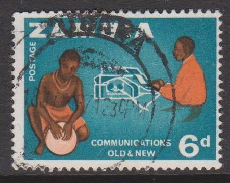Zambia Sc#9 Used